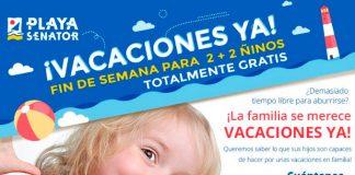 Playa Senator concurso vacaciones YA