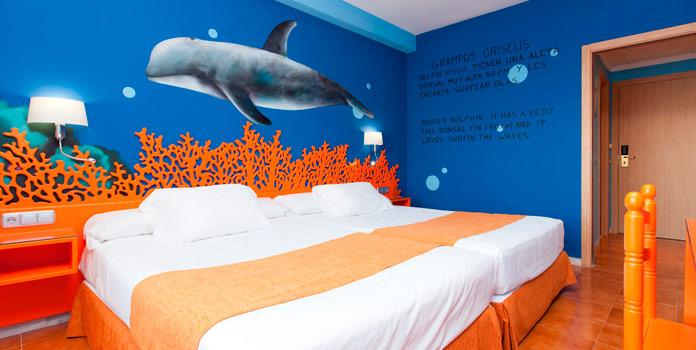 Diverhotel Aguadulce Habitación tematizada