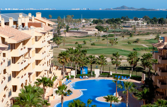 Hotel Senator Mar Menor Golf & Spa Resort, Murcia.