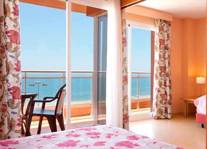 Vistas desde una de las habitaciones del Hotel Playaluna
