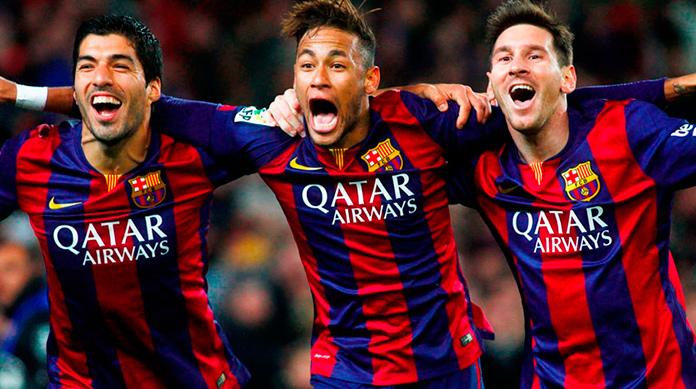 Delanteros del F.C. Barcelona