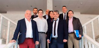 Equipo directivo de Playa Senator reunido con equipo de la Universidad de Almería