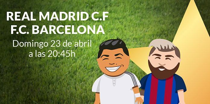 Real Madrid - F.C. Barcelona 23 de abril de 2017