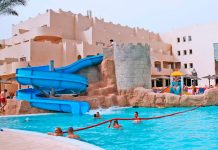 Piscina del nuevo Hotel Cabo de Gata