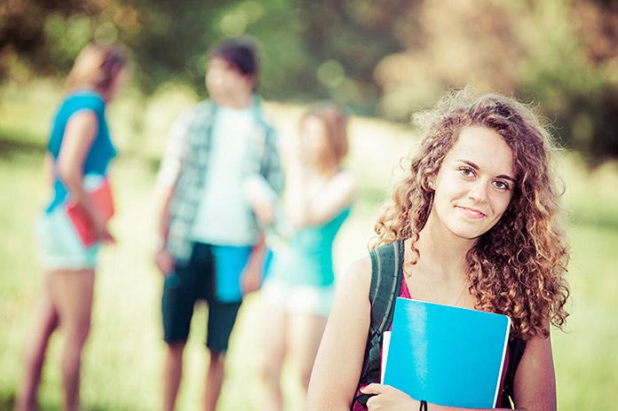 Alumna de uno de los cursos de verano