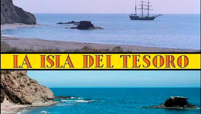 "Fotograma de la película ""La Isla del Tesoro"""