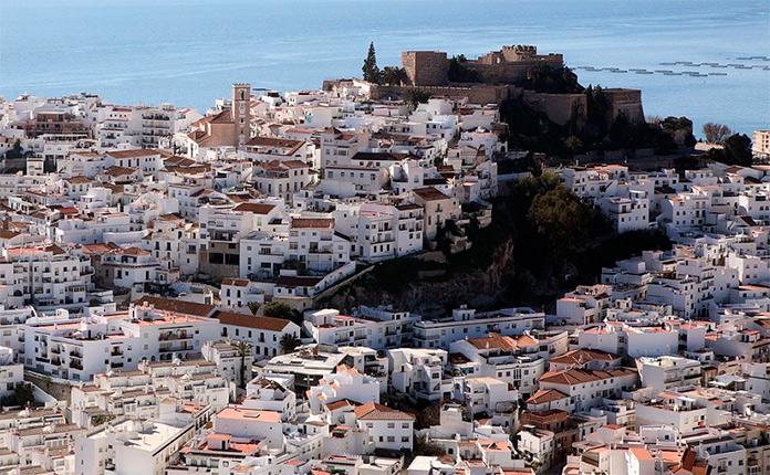 Vista aerea de Salobreña