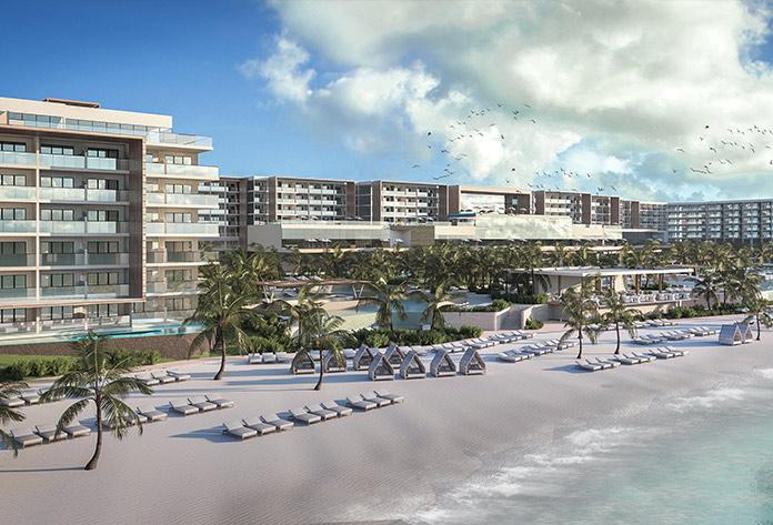 Hotel Senator Riviera Cancún infografía