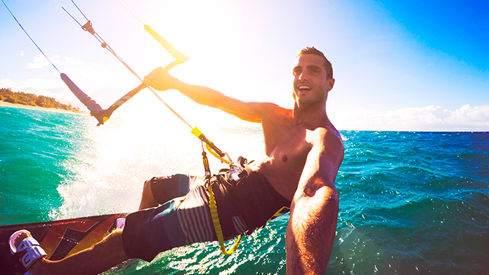 kitesurf en vera