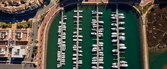 Puerto deportivo Isla Canela
