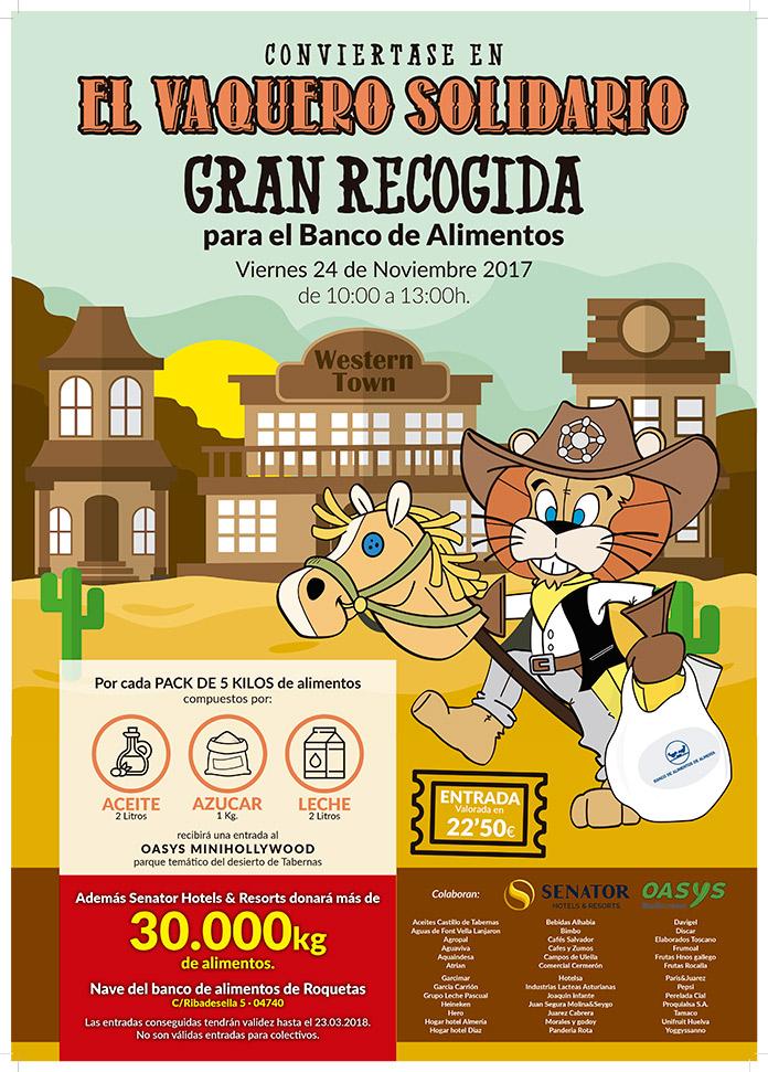 Cartel El Vaquero Solidario