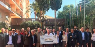 Donan 80.000 kilos al banco de alimentos de Almería