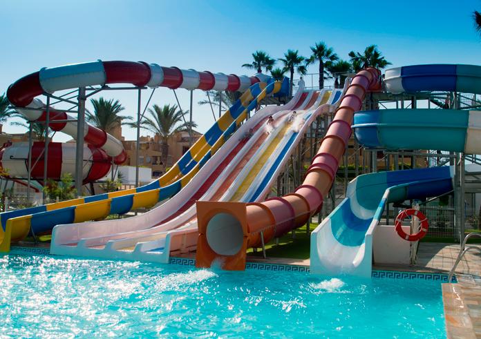 Toboganes Playasol Spa Hotel