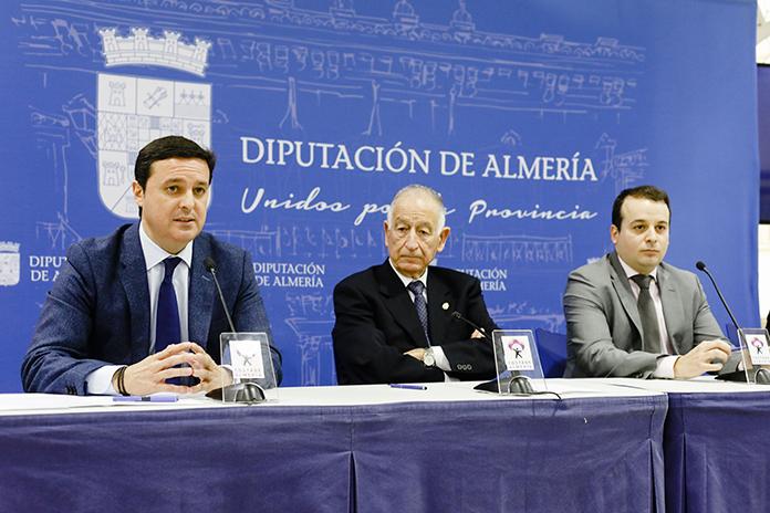 SHR firma un convenio con la diputación de Almería