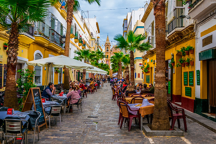 Tapas en Cádiz