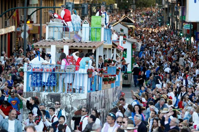 Desfile del Bando de la Huerta