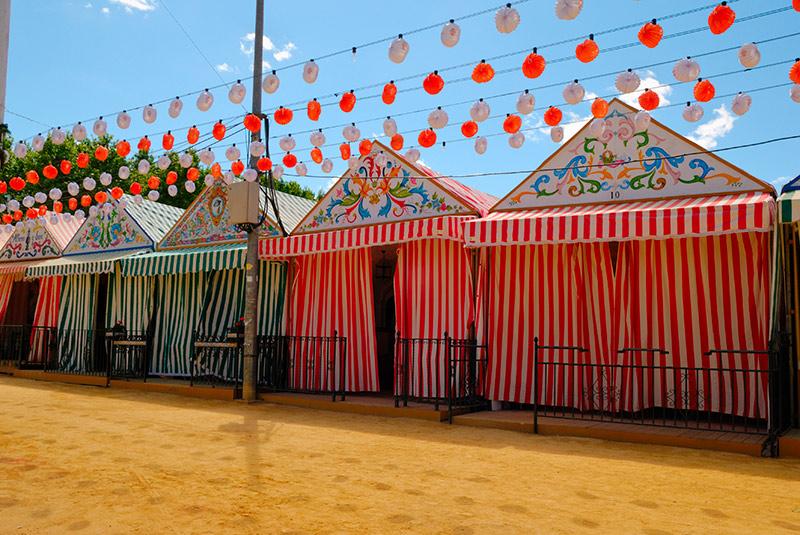 Casetas de la Feria de Abril