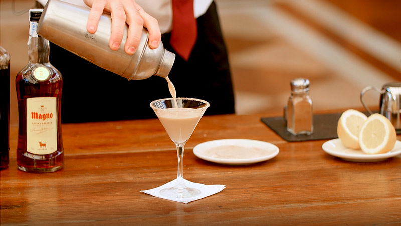 cocktail Brandy Alexander