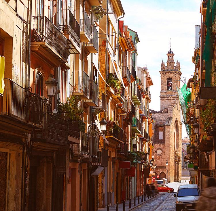 barrio del carmen valencia