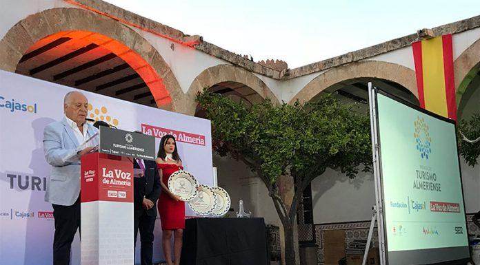José María Rossell, galardonado con los Premios del Turismo Almeriense