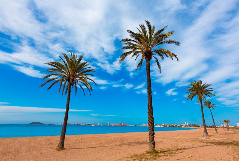 Playa Paraíso (La Manga del Mar Menor)
